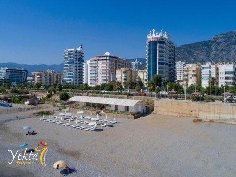 New private beach Yekta Homes