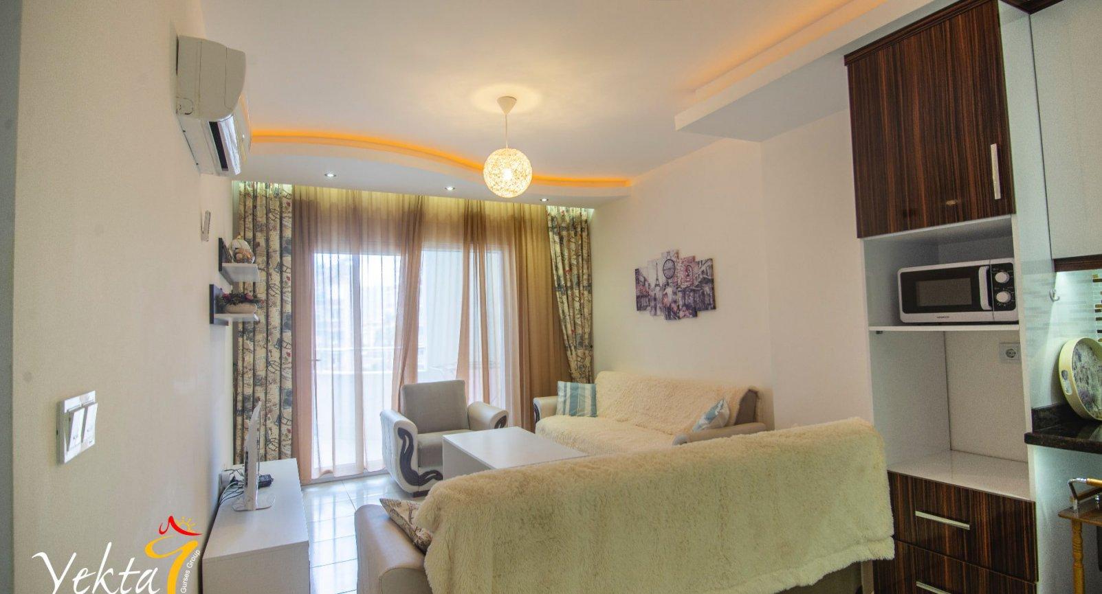 Comfortable apartment 1+1 of Mahmutlar