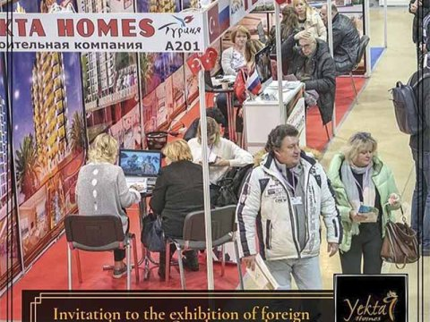 Yekta Homes participates in the biggest Overseas Real Estate Exhibition in Moscow