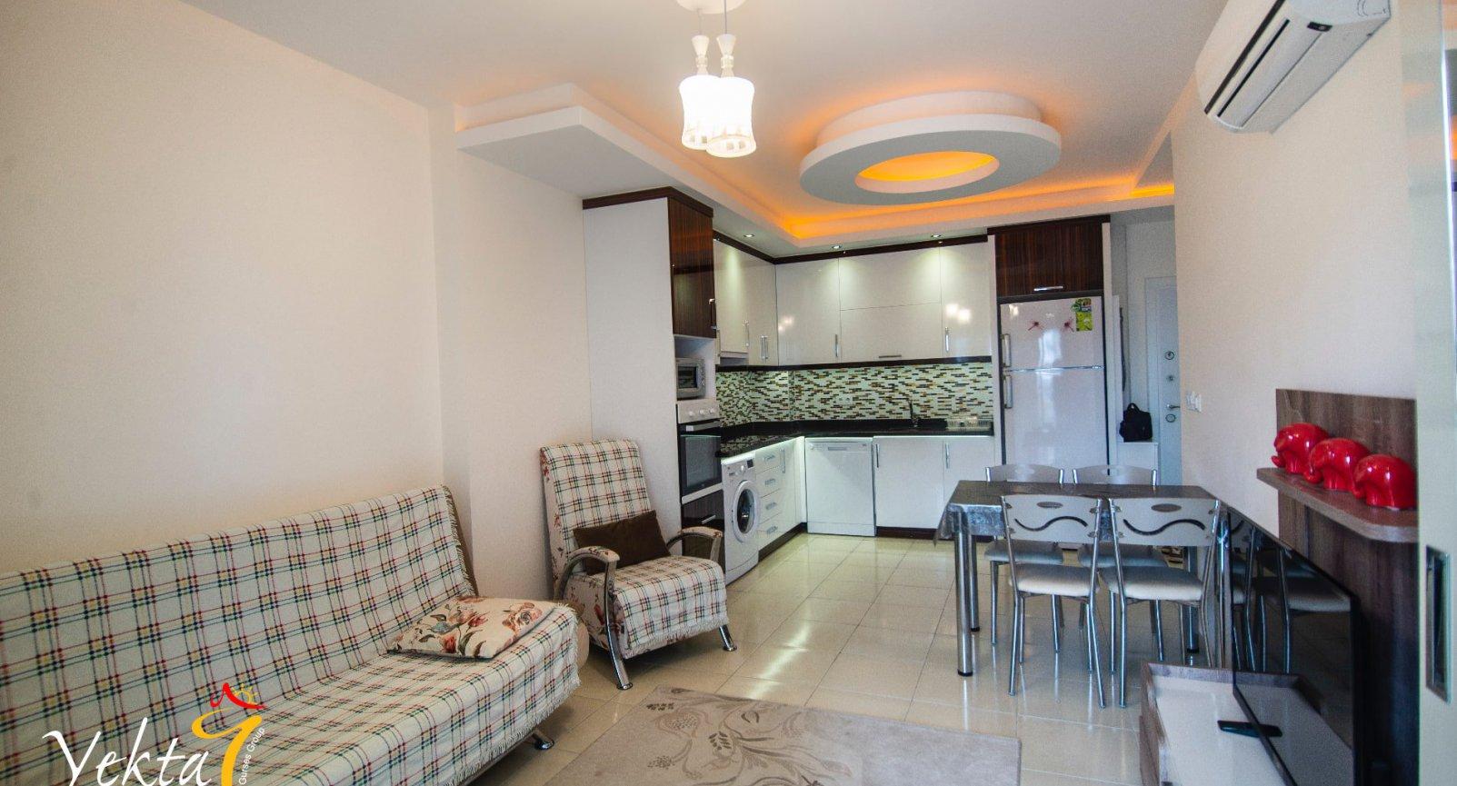 Schöne Apartments 1 + 1 in einer gemütlichen ruhigen Gegend von Mahmutlar