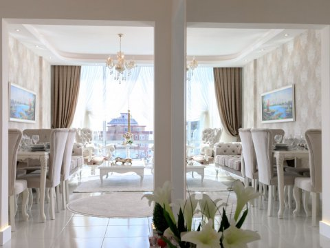 In what form are apartments for rent in Turkey?