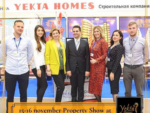 Yekta Homes takes part in Moscow International Property Show