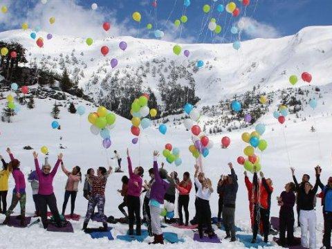 Akdağ Ski Center hosts annual festival