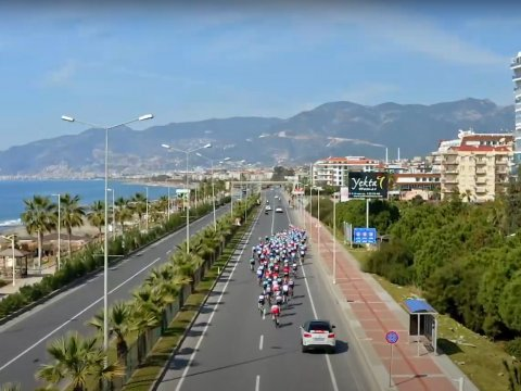 The Malaysian Cycling team is coming to Alanya!