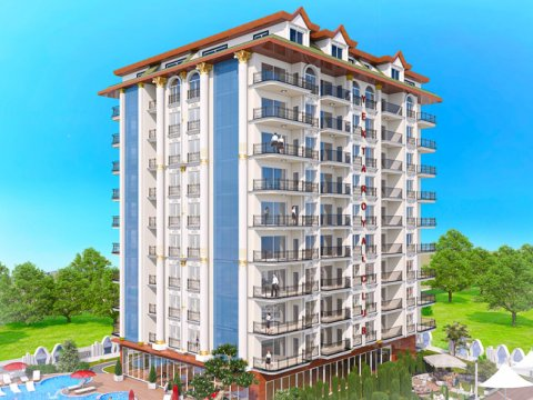 Yekta Homes presents a new project in the heart of Alanya - Yekta Royal Club Residence!
